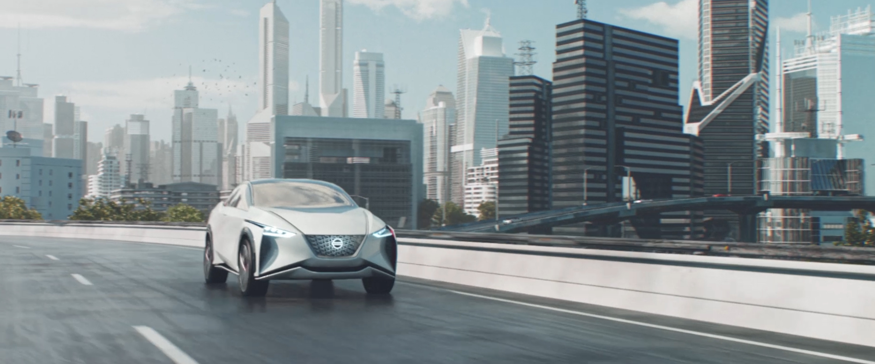 Nissan Intelligent Mobility intro video